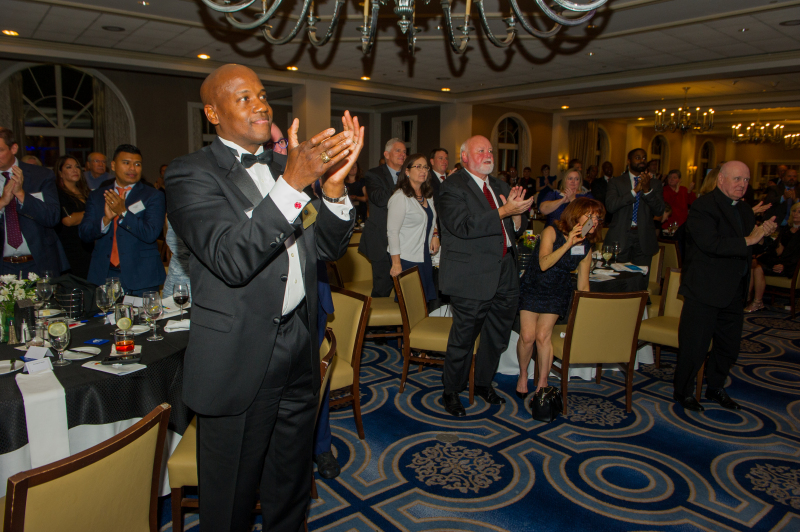 """Catholics for Housing 40th Anniversary Gala """"Foundations to Hope, 1979 - 2019,"""" Westfields Conference Center, Chantilly, VA, Friday, October 4, 2019. (Photo by Max Taylor) Conference Center, Chantilly, VA, Friday, October 4, 2019. (Photo by Max Taylor)"""